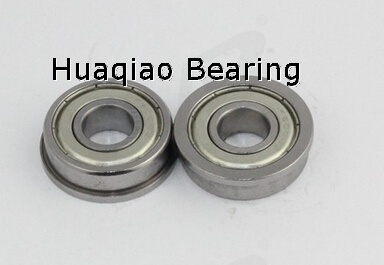 Metric chrome steel stainless steel flange bearing F623ZZ 3X10X4mm abec-1 to abec-7 C0 radial clearance