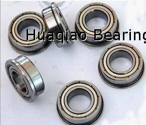 Metric chrome steel stainless steel flange bearing MF115ZZ 5X11X4mm abec-1 to abec-7 C0 radial clearance
