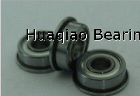 Metric chrome steel stainless steel flange bearing F685ZZ 5X11X5mm abec-1 to abec-7 C0 radial clearance