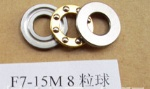 F7-15M mini thrust ball bearing 7X15X5mm